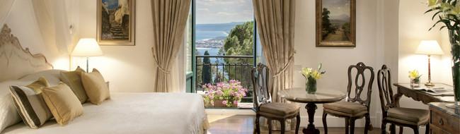 Hoteles de cinco estrellas en Sicilia