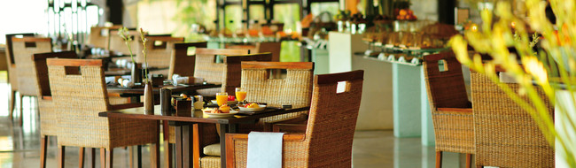 Restaurant auf Bali