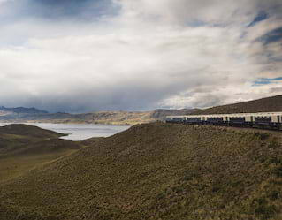 Belmond Train in Peru