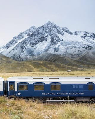 Train journeys in Peru