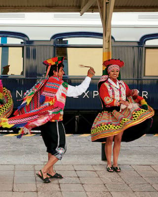 Belmond Andean Explorer, Entertainment, Dancers