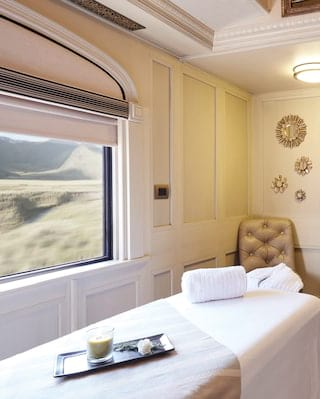 Belmond Andean Explorer spa carriage