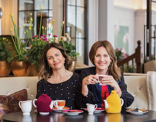 Nadia and Katia Narain Phillips, Wellbeing experts