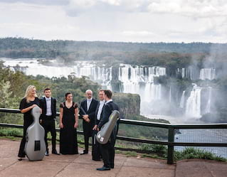 London Philharmonic Orchestra at Iguassu falls