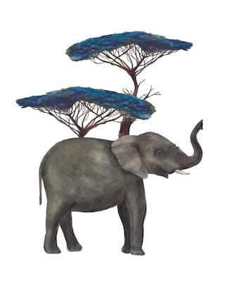 Illustration of elephant