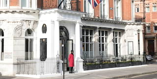 exterior shot of belmond cadogan hotel in london
