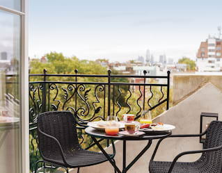 balcony view at the cadogan