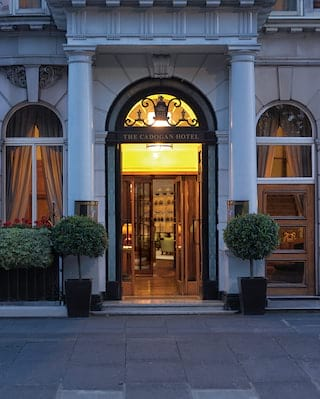 Belmond Cadogan Hotel entrance