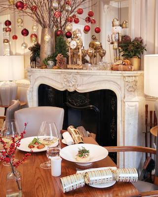 christmas dinner menu festive seasonal food in london