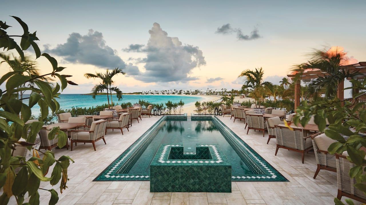 Beach view from Maundays Club, Anguilla