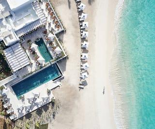 Belmond Cap Juluca aerial view