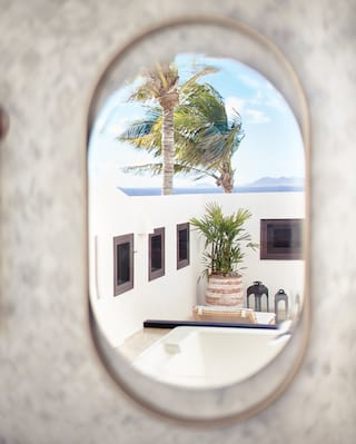 Belmond Cap Juluca bathroom mirror