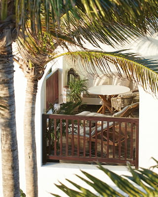 Belmond Cap Juluca suite balcony