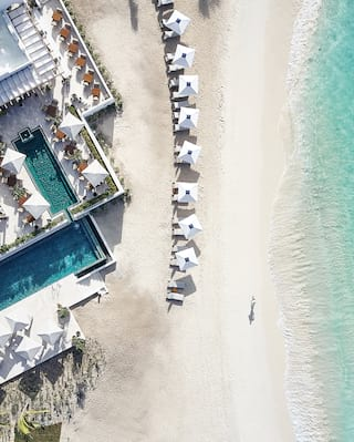 The white beaches of Anguilla