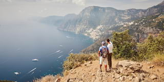 Scenic hiking along the Amalfi Coast