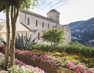 Belmond Hotel Caruso Garden Tour