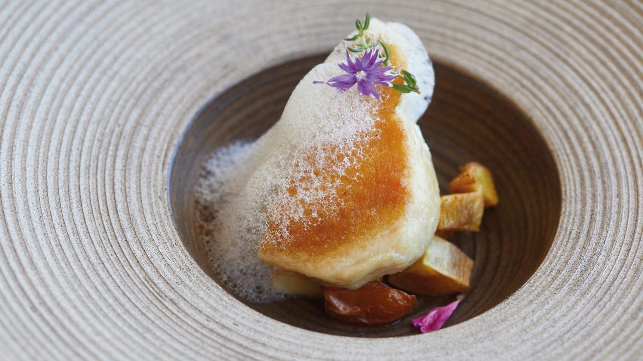 Food at Itaipu Restaurant in Belmond Hotel das Cataratas, Brazil