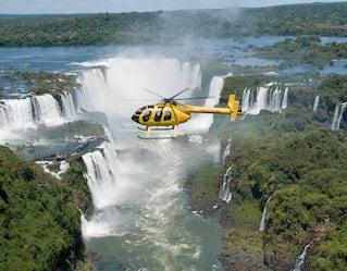 Helicopter Ride, Iguassu Falls