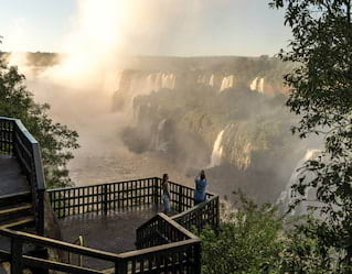 Morning Walks, Iguassu Falls