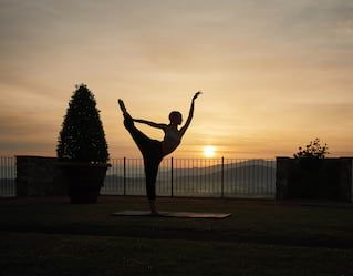 Yoga in Tuscany