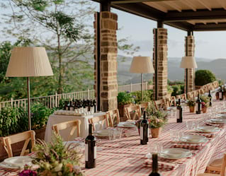 Venues in Tuscany, Panoramic Terrace