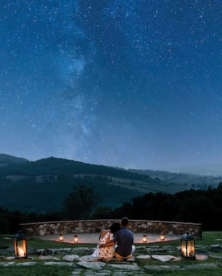 Stargazing in Tuscany