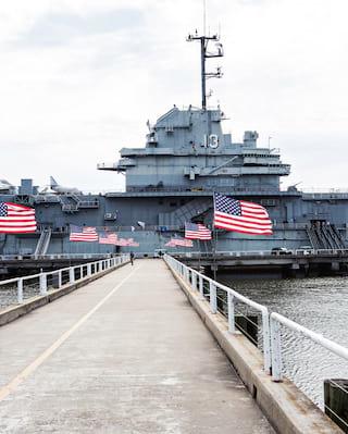 USS Yorktown: Ideal for corporate group activities