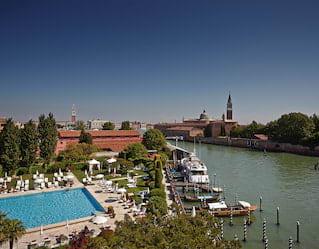 Belmond Hotel Cipriani Pool in Venice