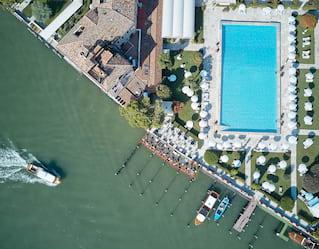 Piscina di Belmond Hotel Cipriani a Venezia