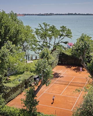 Belmond Hotel Cipriani Tennis Courts in Venice