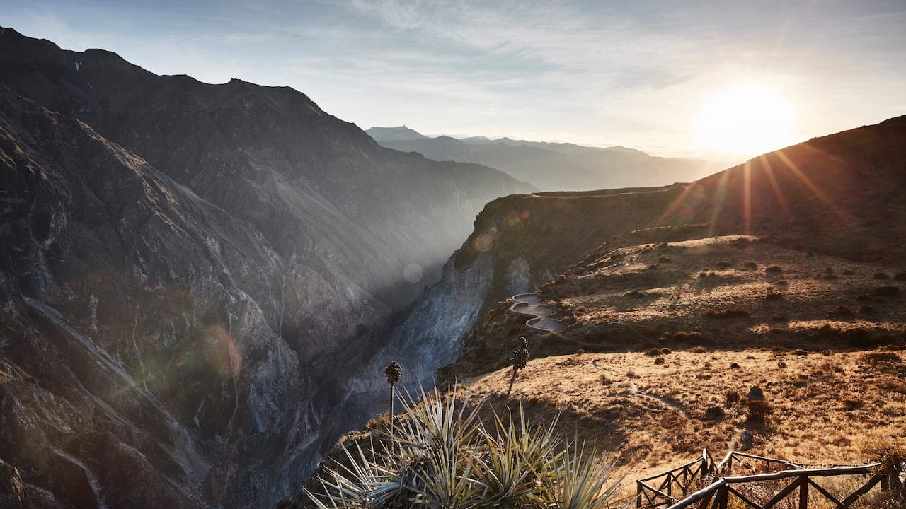 View of the Colca Valley
