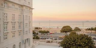 exterior shot of belmond copacabana palace hotel in rio de janeiro