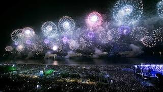 New Year's Eve celebration at Copacabana Palace