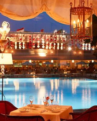Ristorante Hotel Cipriani in Copacabana
