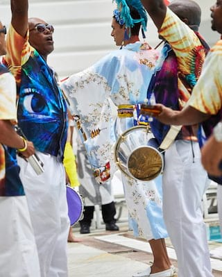 Sambadromo during the Rio Carnival