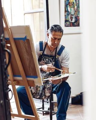 JOSÉ LUIS ARIAS painting