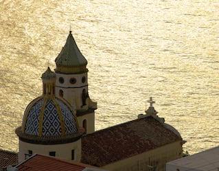 scenic view of the amalfi coast