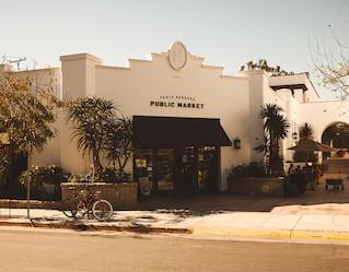 View of State Street, Santa Barbara, California