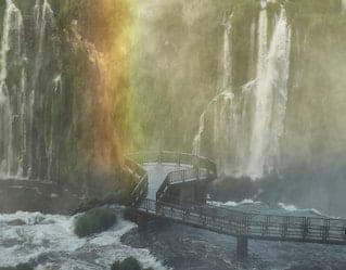 Passeio da Lua Cheia, Cataratas do Iguaçu