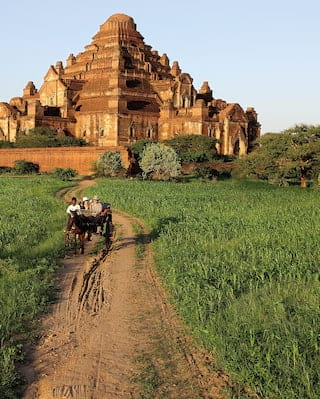 Tour in calesse in Myanmar