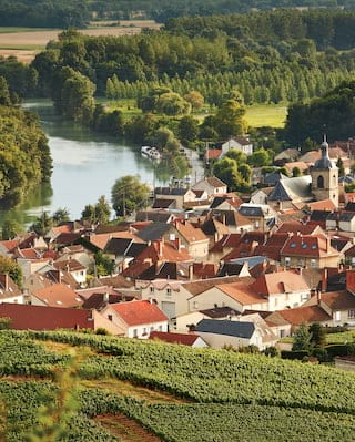 River cruises in Champagne, France