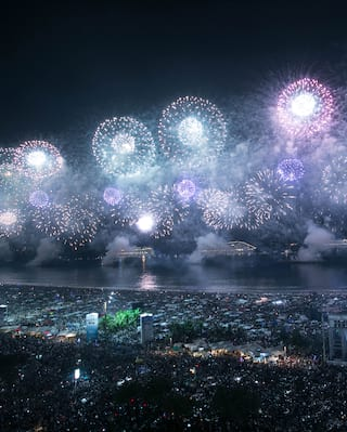 New Years Eve in Rio de Janeiro