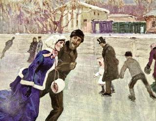 Tamara Moskvina skating classes, St Petersburg