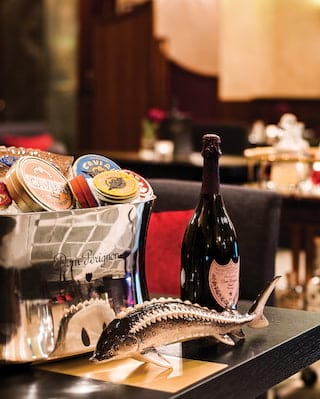 Caviar Bar, Belmond Grand Hotel Europe
