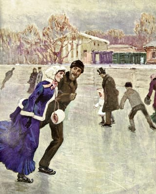 Ice-skating with Tamara Moskvina