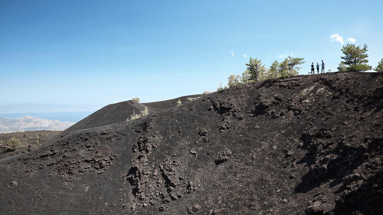 Mount Etna landscape in Sicily