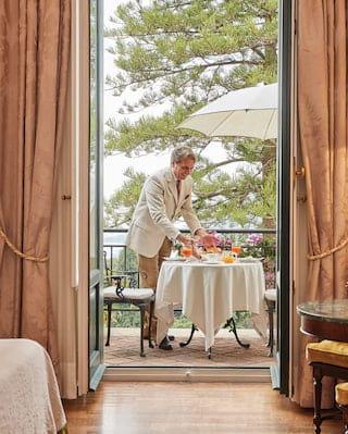 Belmond Grand Hotel Timeo Room Service
