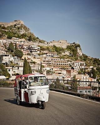 Taormina, Piaggio Ape