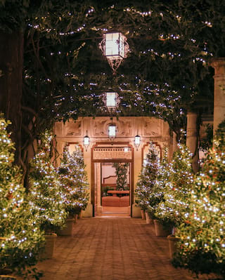 Grand Hotel Timeo Entrance