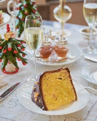 tè di Natale a Portofino